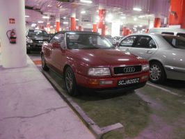Audi A Something Cabrio by IlyaRacer