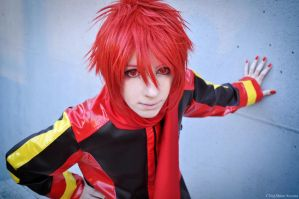 Akaito - Vocaloid cosplay by HauntedKing