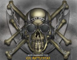 Vic Rattlehead Design by reyjdesigns