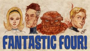 Fantastic Four by photon-nmo