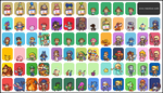 (SPOILERS) SUPER SMASH BROTHERS 4 ROSTER PIXELART by Neoriceisgood