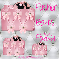Pink Barbie Folder Icon 3 by mllebarbie03