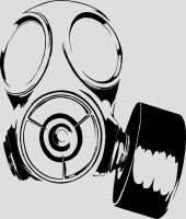 Gas Mask by Burrly-Bearr