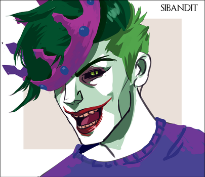Clown Prince of Crime by sibandit