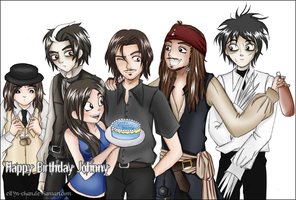 Happy Birthday Johnny by Eilyn-Chan