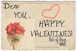 Valentine 2012 - Post It Out by ddsp