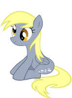 Derpy Hooves sit by Sam-F-Nacman