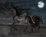CE Lupus TR-3 | Saddle Type Stag | HARPG by NightingaleFawn