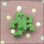 Cactuar Charm by junosama