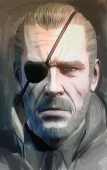 MGS: Big Boss by TankDitch