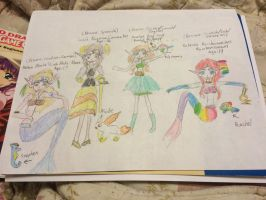 Rainbow Land Elves 2 (Oz-bassadors) by Amphitrite7