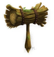 DAY 393. Mallet by Cryptid-Creations