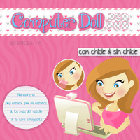 Computer Dolls PSD y PNG By Lucesita by LucesitaEditions