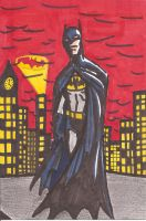 The Caped Crusader by Mbecks14