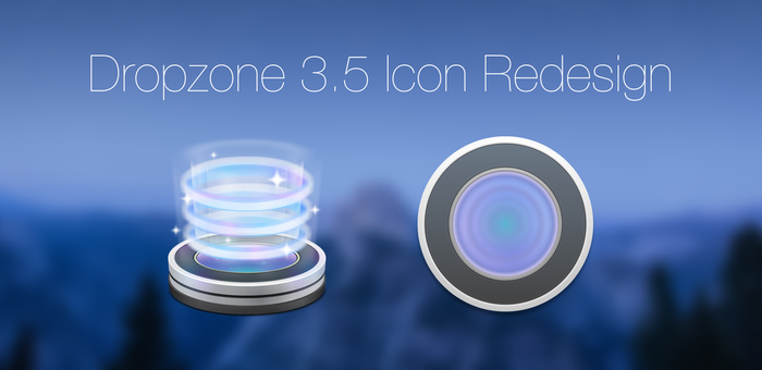 Dropzone 3.5 Icon Redesign by PTT69BIO