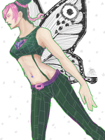 JJBA part 6 - JOLYNE KUJO by kakaii321