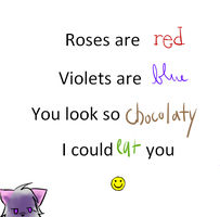 My First Poem :3 by Kitzophrenic