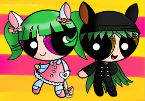 RQ:Minty and Maggy by Thiago082
