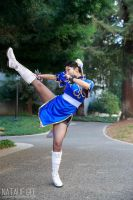 'I don't have time for amateurs!' Chun Li by MasqueradeRose1881