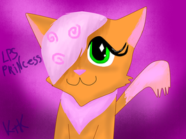 LPS Princess the cat by Rikokitten