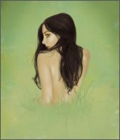 Grass Girl by jezebel
