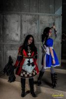 Alice Madness Returns: Royal Suit and Default by jinxed-jem