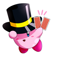 Kirby collab_Magic Kirby by Chivi-chivik