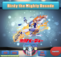 Birdy the Mighty Decode ICO & PNG by bryan1213