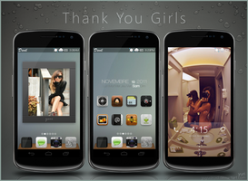 Thank You Girls by yuyudroid