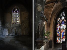 Notre Dame, Bourges 2 by lawrencew