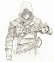 Edward Kenway by cpss