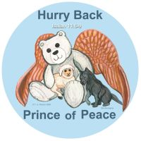 Prince of Peace Angel Bear by WildHorseFantasy