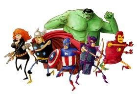 Avengers Assemble by dsb