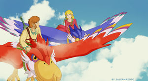 the legend of Zelda - skyward sword by salvamakoto