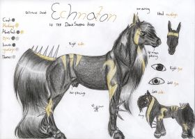 Echnaton Reference Sheet by Shehy