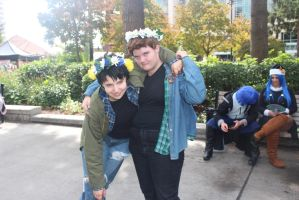 sam and dean - kumoricon 2014 by cosplayplz