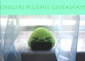 Green Onigiri Plushie Giveaway by Love-Who