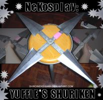 Nekosplay: Yuffie's Shuriken by ShiroiNeko-sama