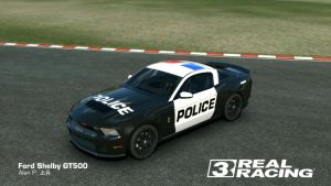 RR3 Ford Shelby GT500 cop customization by AlanDPark