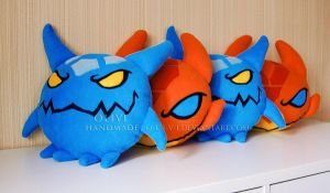 Jakiro Pillows by O-l-i-v-i