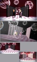 MMD Luminous Lamp Stage Download by Hack-Girl