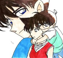 Shinichi x Ran - I'm right here by IshidaYuki