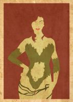 Poison Ivy Poster by Procastinating
