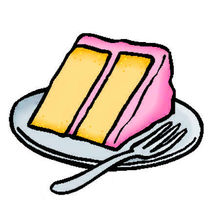 Cake Slice COLORED by Snowshi