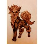 Arcanine by Demonic-creature