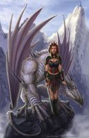 Dragon rider by BrentWoodside
