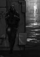 Dark Alley by artificialdesign