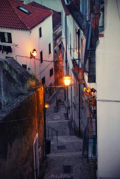 Streets of Lisbon by Ana-D