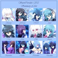 2012 Art Summary by SnowCorridor