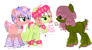 Titus,Floral Massacre And Slimie by Xylon-Starrise